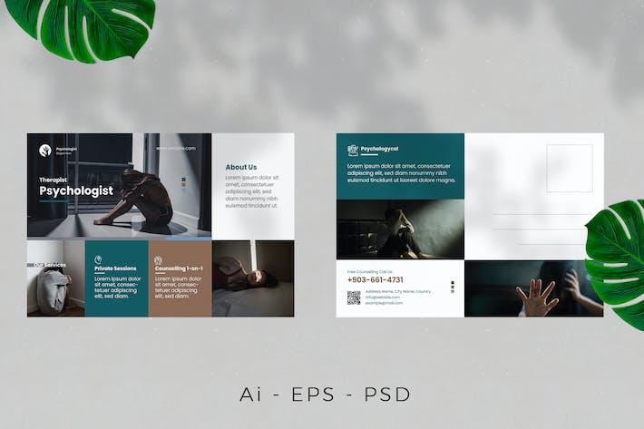 Psychology Postcard Design