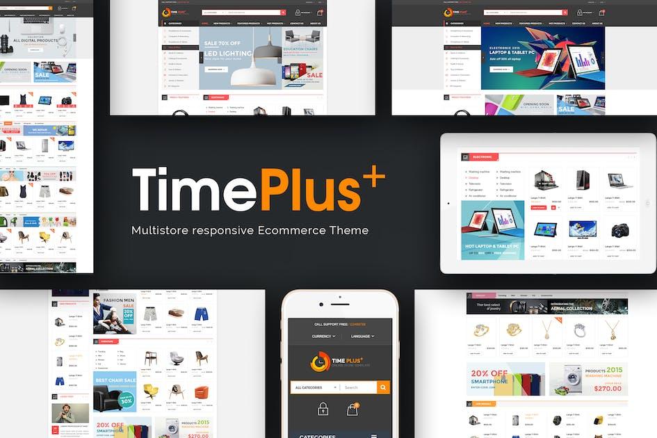 Download TimePlus - Mega Store Responsive Opencart Theme by posthemes