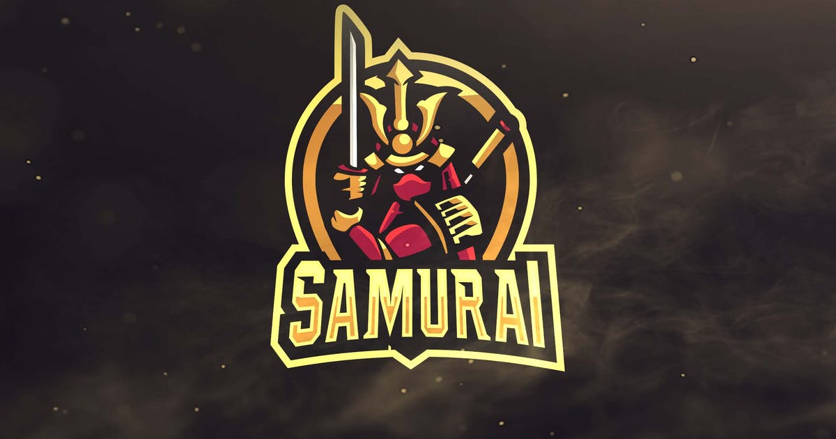 Download Samurai Sport and Esports Logo by ovozdigital