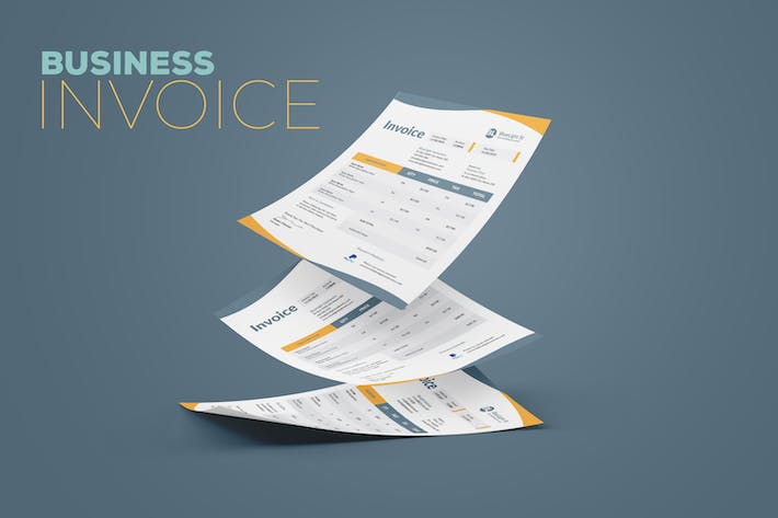 Cover Image For Clean Invoice Design