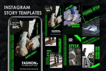 Modèle Sneaker Instagram