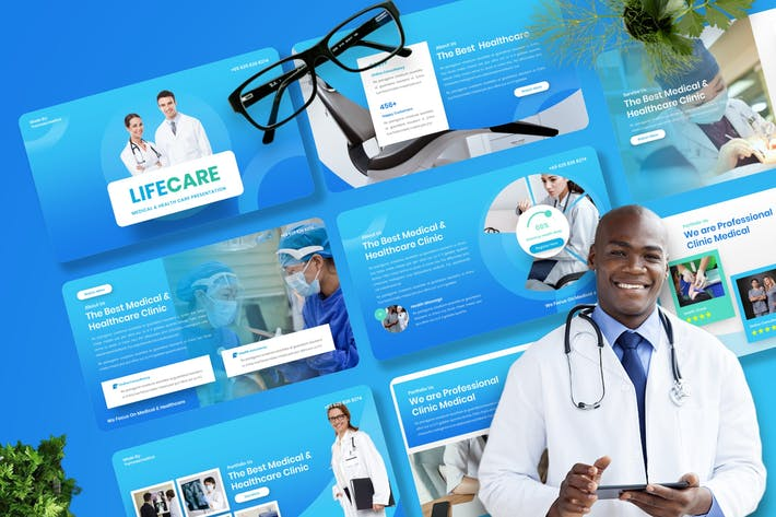Lifecare - Medical & Healthcare Keynote Template