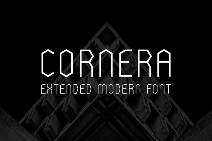 Cover Image For Cornera Extended Font