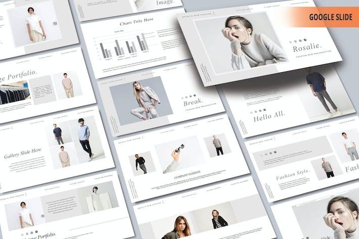 Thumbnail for ROSALIE - Мода Google слайд