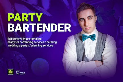 Party Bartender - Bartending Services / Catering