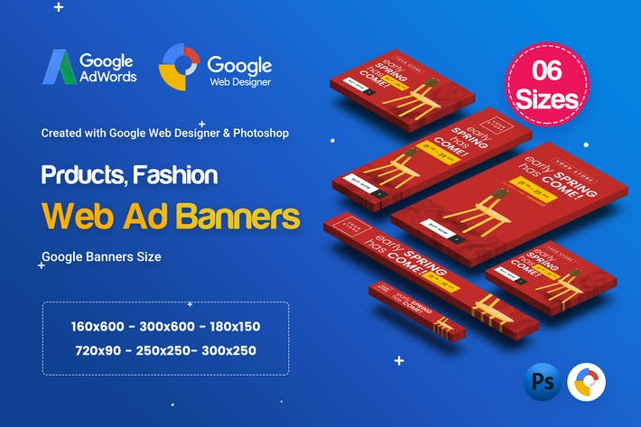 Thumbnail for C66 - Product Sale Banners GWD & PSD
