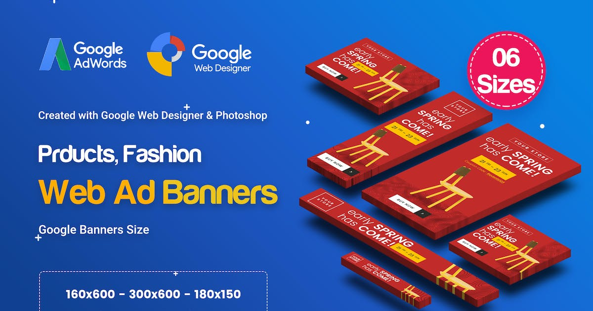 Download C66 - Product Sale Banners GWD & PSD by iDoodle