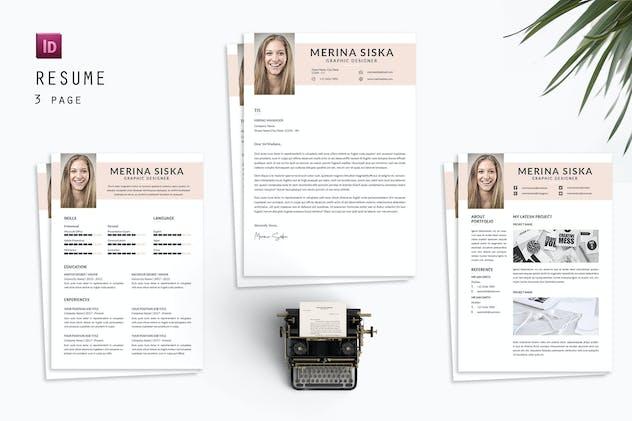 Merina siska Resume Designer