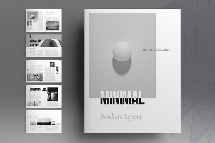 Thumbnail for Minimal Brochure Layout