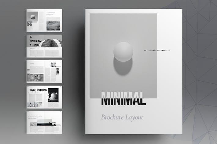 Minimal Brochure Layout