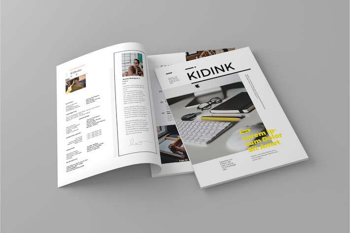 Thumbnail for Kidink - Magazine Template