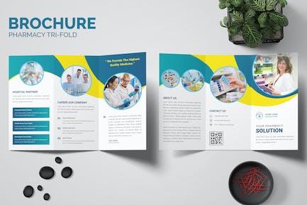 Pharmacy Health Trifold Brochure