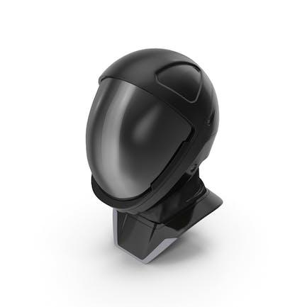 Sci Fi Astronaut Helmet Black