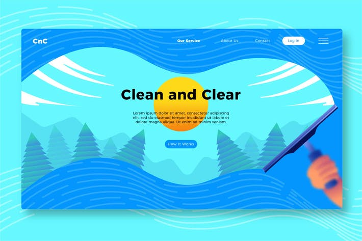 Thumbnail for Clean and Clear - Banner & Landing Page