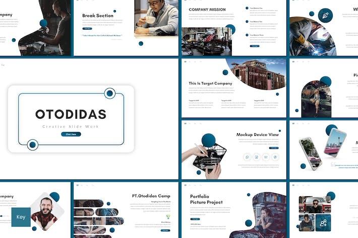 Otodidas - Creative Keynote Template