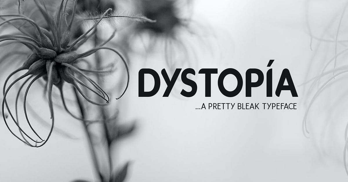 Download Dystopia Typeface by DesignSomething