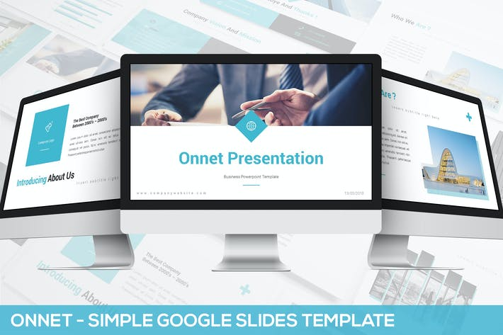 Thumbnail for Onnet - Simple Google Slides Template