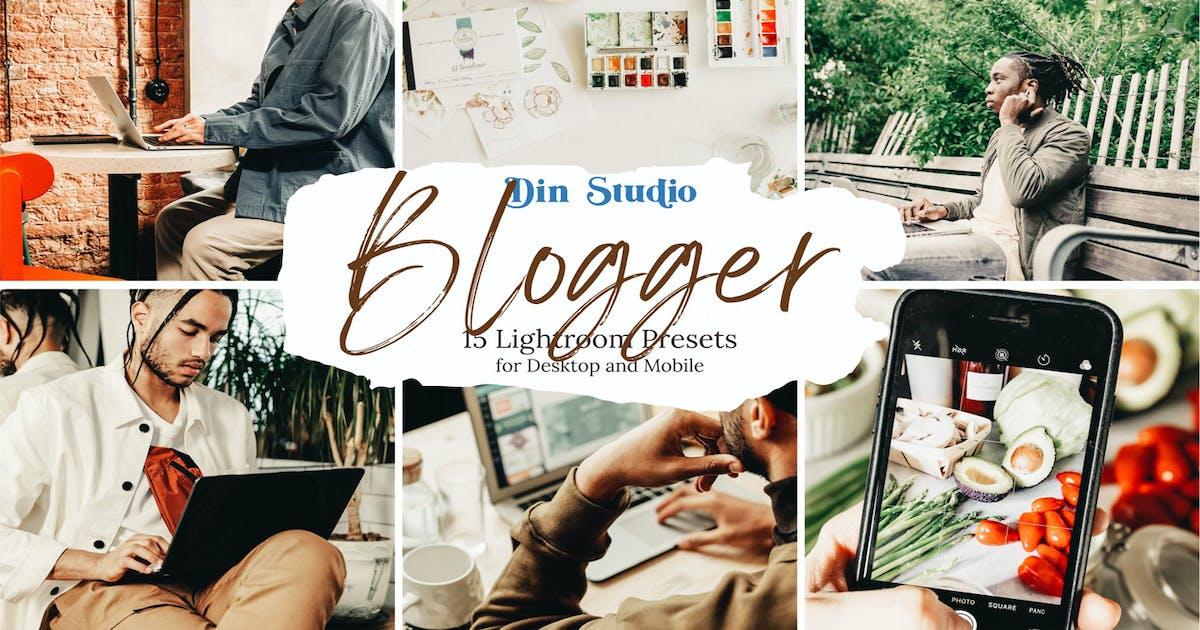 Download Blogger Lightroom Presets by Din-Studio