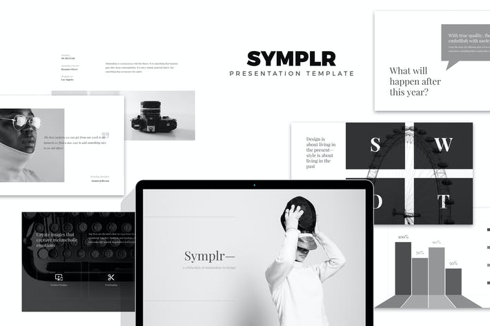 Thumbnail for Symplr : Minimal, Clean and Simple Google Slides