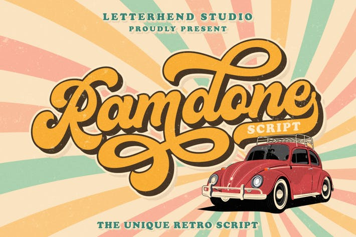 Cover Image For Ramdone - Retro Script