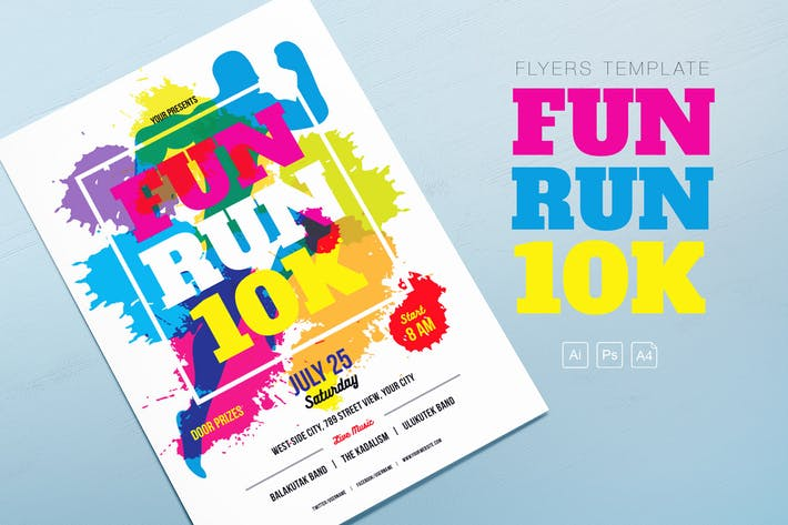 Download 30 Running Graphic Templates Envato Elements