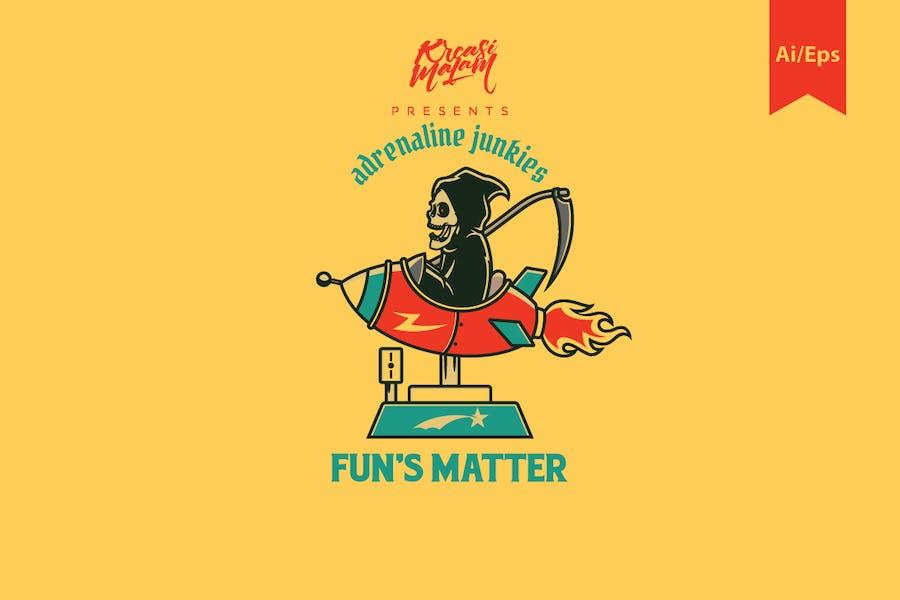 Fun's Matter Logo Template