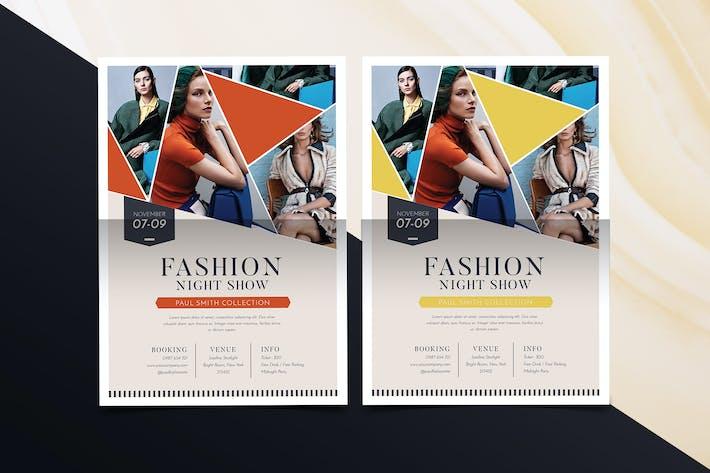 Thumbnail for Folleto de moda Simple