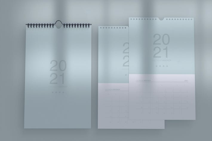 Thumbnail for Spiral Calendars Mockup.