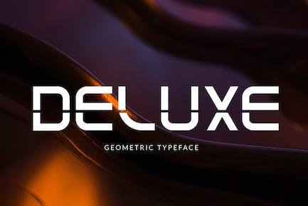 Deluxe - Modern Font