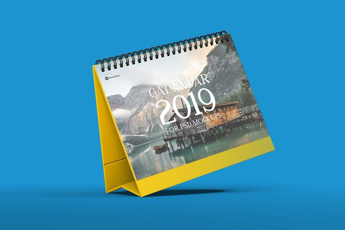 Cover Image For Calendar Table Mockups vol.1