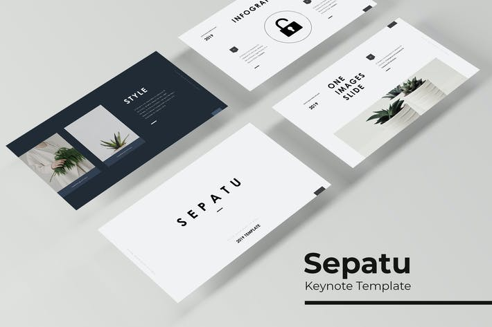 Thumbnail for Sepatu - Keynote Template
