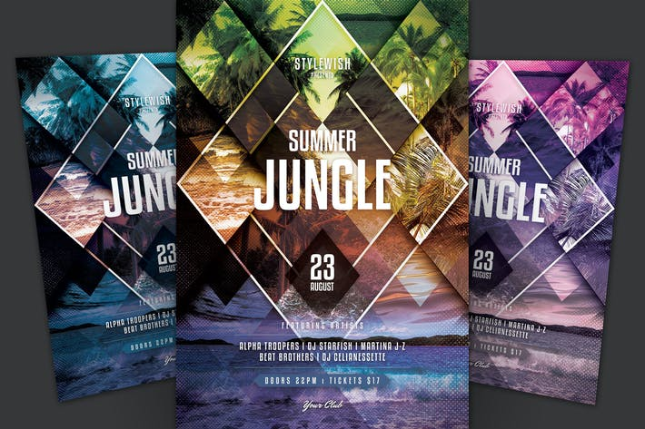 Thumbnail for Summer Jungle Flyer