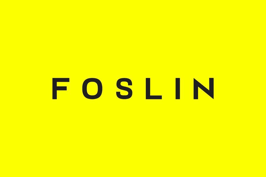 FOSLIN - Minimal Sans-Serif / Display Typeface