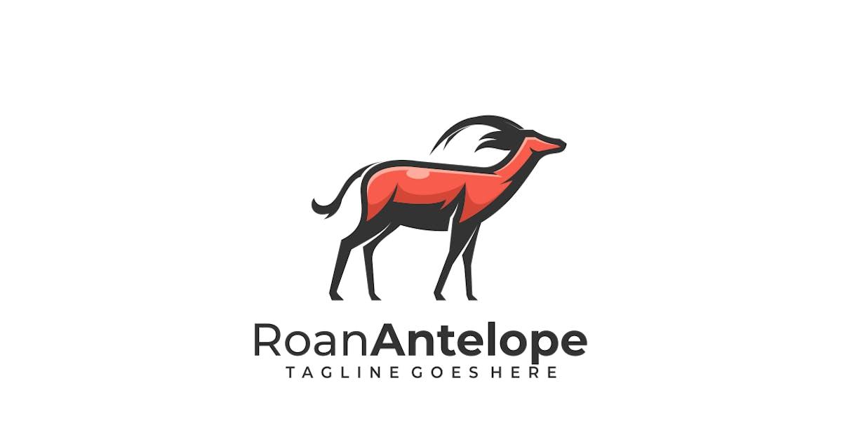 Download Roan Antelope Mascot Logo by artnivora_std