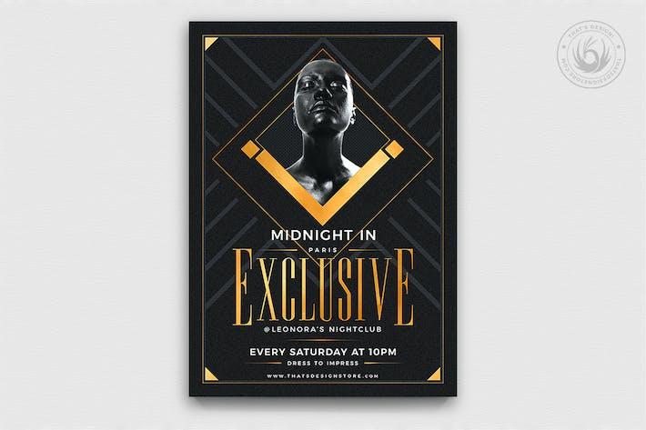 Thumbnail for Modèle Exclusif de Party Flyer