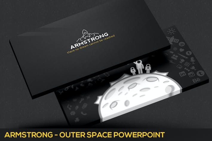 Cover Image For Armstrong Powerpoint Template