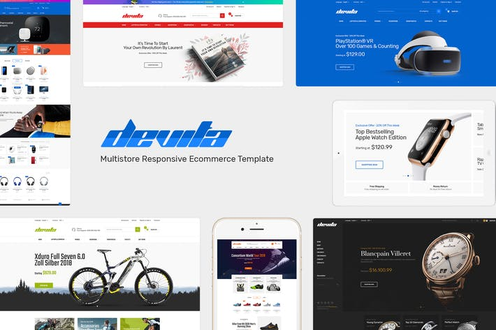 Thumbnail for Devita - Multipurpose Responsive Magento Theme