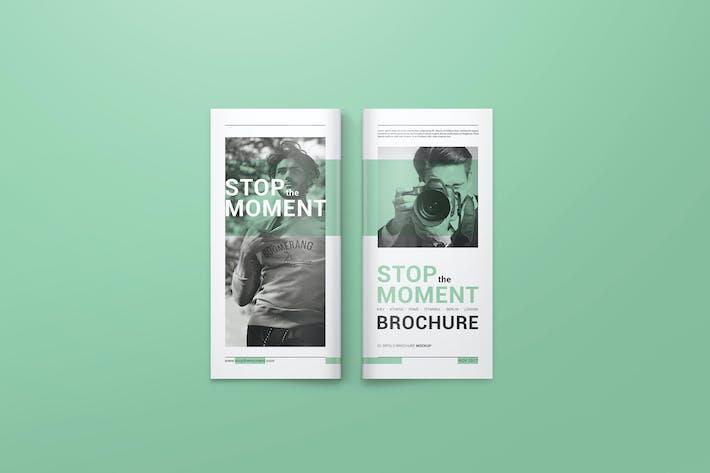 Thumbnail for DL Bifold Brochure Mockups 02