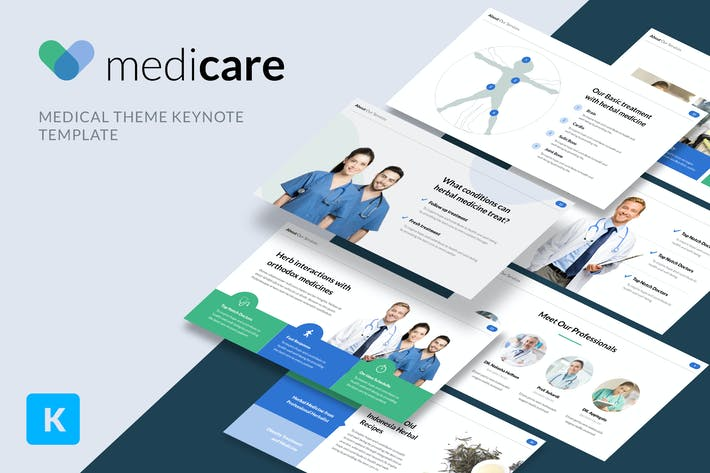 Thumbnail for MediCare - Medical Theme Keynote