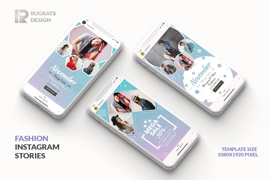 Fashion R1 Instagram Story Template