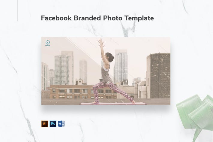 Thumbnail for Yoga Instructor Facebook Branded Photo