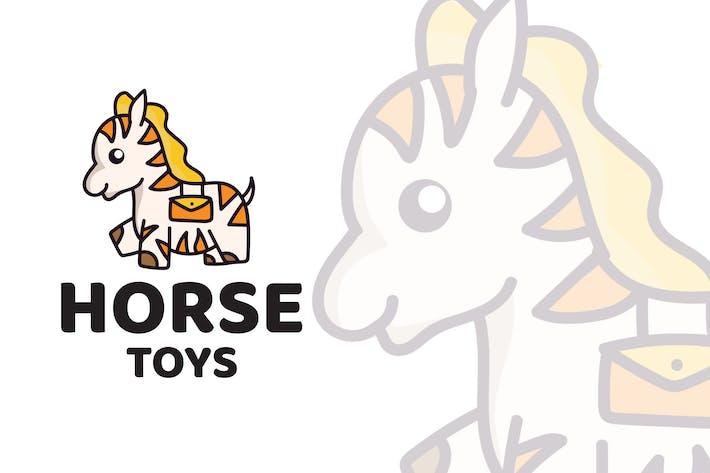 Thumbnail for Horse Toys Cute Logo Template