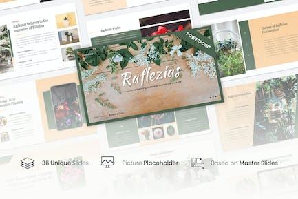 Raflezias – Creative Business PowerPoint Template