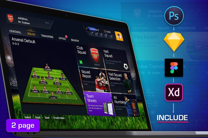 Cover Image For Football Dashboard Profile