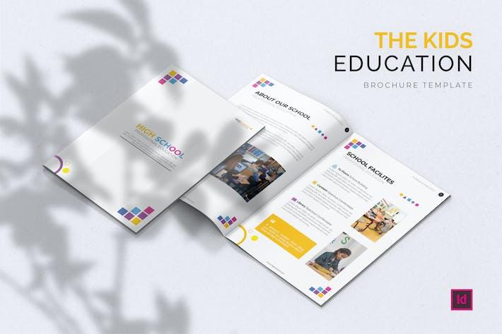 Education Kids - Brochure Template
