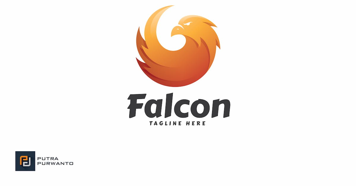 Download Falcon - Logo Template by putra_purwanto