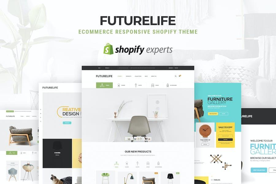 Futurelife | eCommerce Responsive Shopify Tema