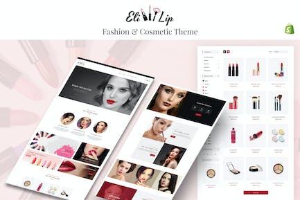 Eli - Lipstick & Nail Polish Store Shopify Theme