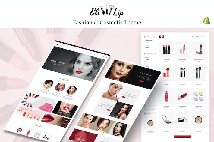 Thumbnail for Eli - Lipstick & Nail Polish Store Shopify Theme