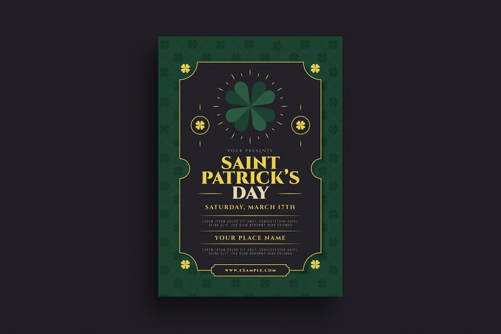 Thumbnail for Saint Patrick Day Event Flyer